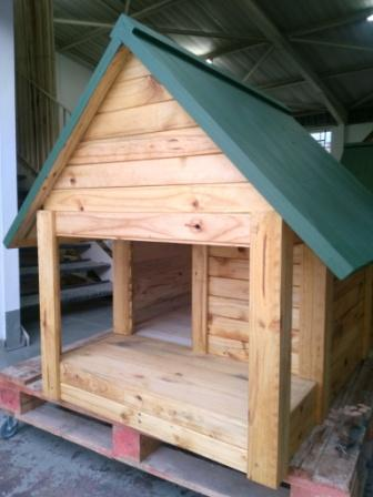 Large Dog Kennel With Veranda 5410585599